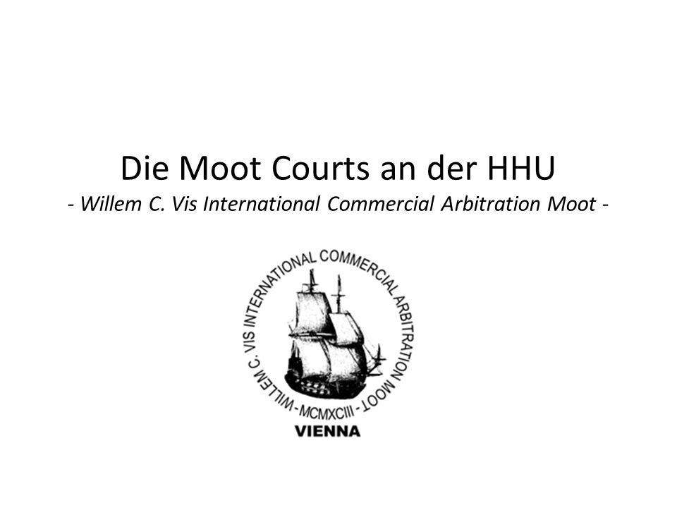 Gliederung der Präsentation Allgemeines zu Moot Courts -Was ist überhaupt ein Moot Court.