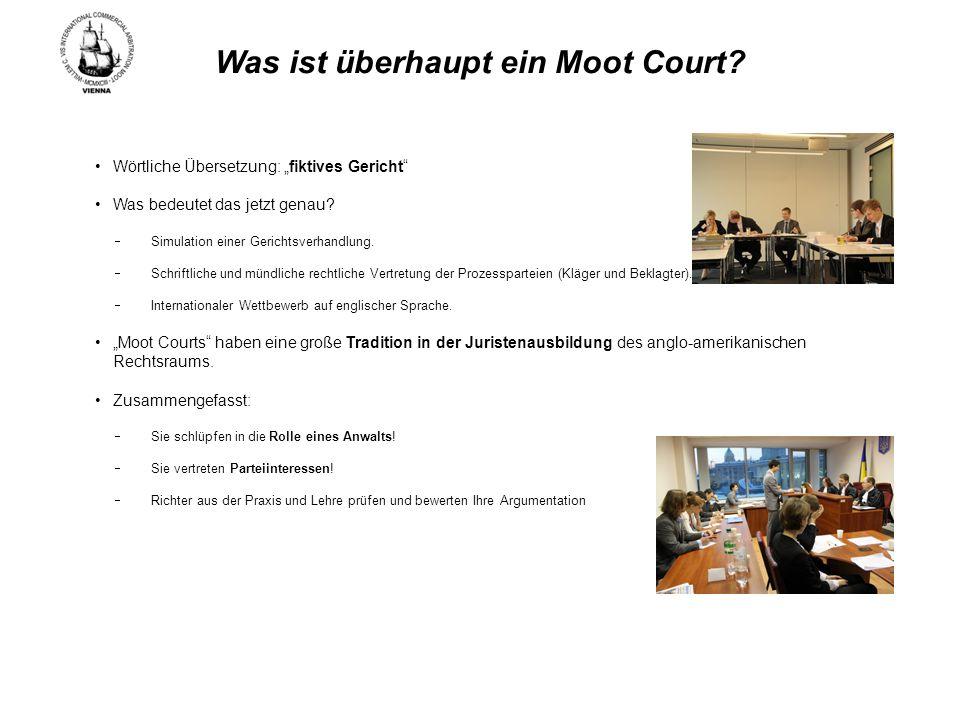 Was bringt ein Moot Court.