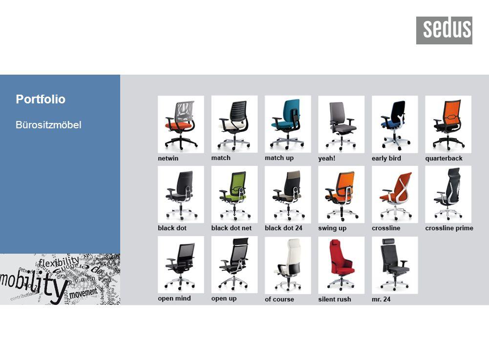 Portfolio Bürositzmöbel
