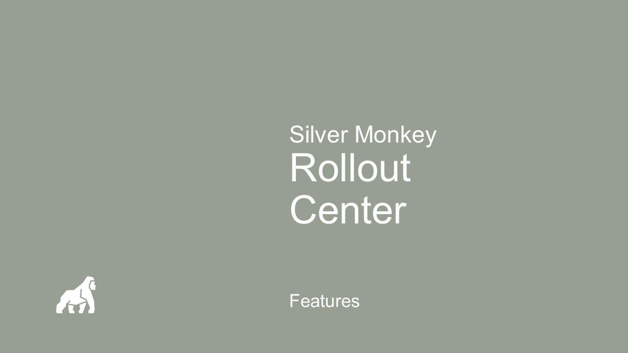 Silver Monkey Produkt Service Durch den Silver Monkey Produkt Service stehen folgende Leistungen zur Verfügung: Kostenloser Zugriff auf alle Produkt Updates Zugriff auf die Silver Monkey Knowledge Base Support bei Störungen mit zugesicherten SLAs Zu erreichen über http://www.SilverMonkey.net ++ Details zu entnehmen aus dem Service Vertrag