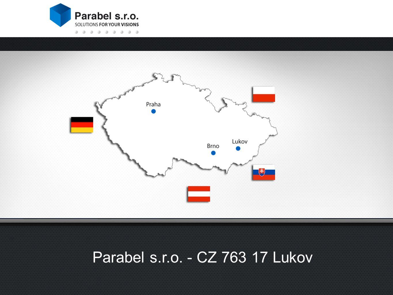 Parabel s.r.o. - CZ 763 17 Lukov