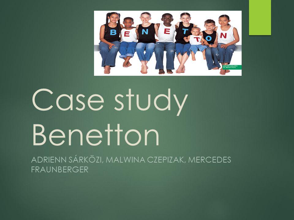 Benetton Heutzutage  2000: 150Million Kleidungen/Jahr  2003: Veränderung in Zentrum Nordica (Sportkleidung) Verbreitung der Sortiment  2011: Qualität noch wichtiger United Collors of Benetton Playlife 2 Mld Umsatz