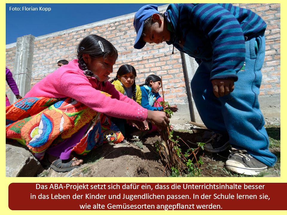 Das ABA-Projekt setzt sich dafür ein, dass die Unterrichtsinhalte besser in das Leben der Kinder und Jugendlichen passen. In der Schule lernen sie, wi