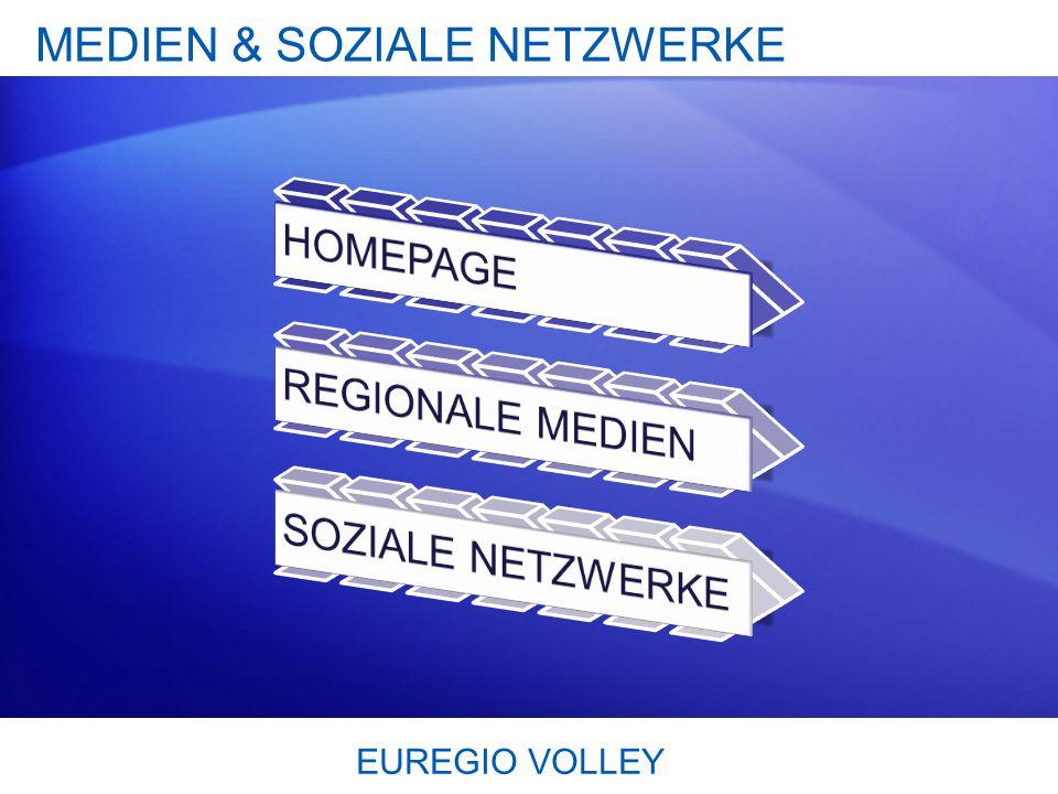 EUREGIO VOLLEY MEDIEN & SOZIALE NETZWERKE