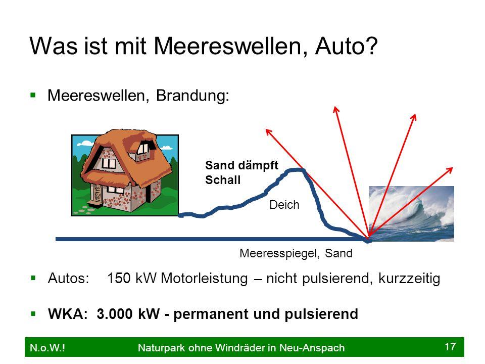 Was ist mit Meereswellen, Auto?  Meereswellen, Brandung: N.o.W.! Naturpark ohne Windräder in Neu-Anspach AAutos: 150 kW Motorleistung – nicht pulsi
