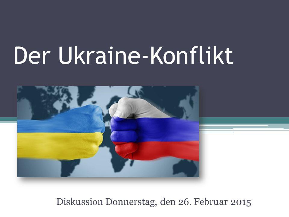 Chronik des Konfliktes 1.Ende November 2013 - Assoziierungsabkommen mit der EU wird nicht unterzeichnet  Proteste 2.Militärverlagerung Russlands auf die Krim 3.16.