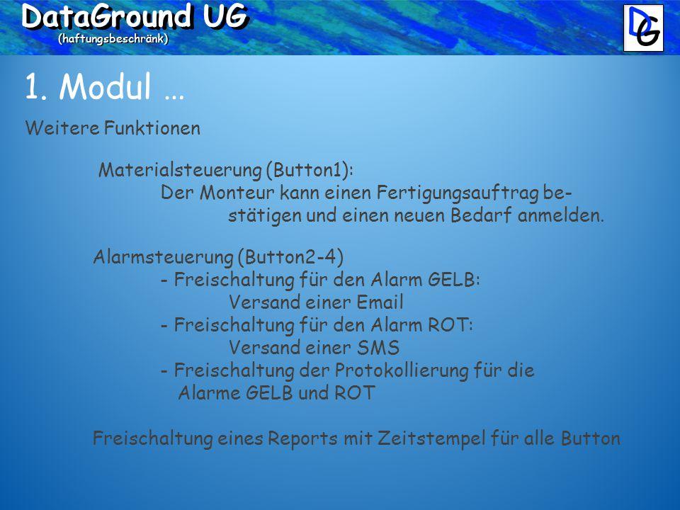 DataGround UG (haftungsbeschränk) 1.