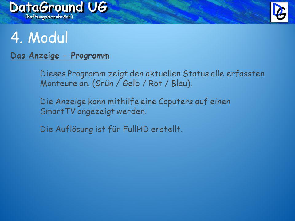 DataGround UG (haftungsbeschränk) 4.