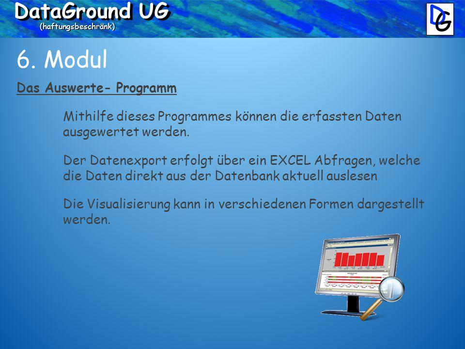 DataGround UG (haftungsbeschränk) 6.