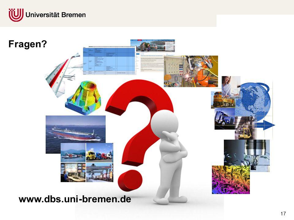 17 Fragen www.dbs.uni-bremen.de
