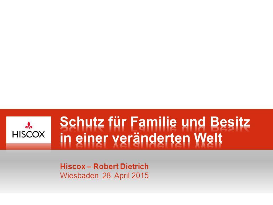 Hiscox – Spezialversicherer für berufliche und private Risiken 11 Der gestohlene Attaché-Koffer 11