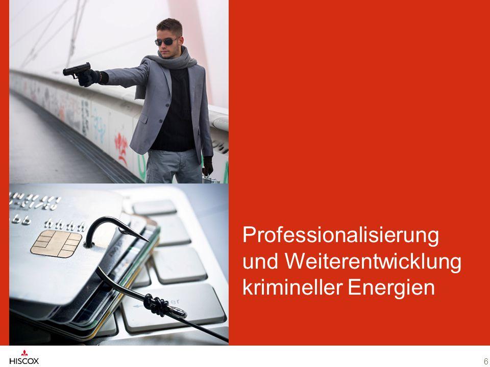 6 Professionalisierung und Weiterentwicklung krimineller Energien 6