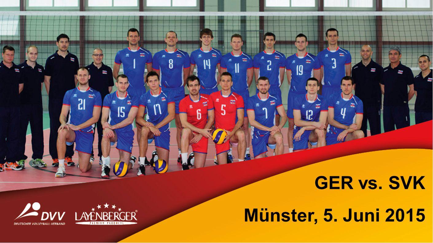 GER vs. SVK Münster, 5. Juni 2015