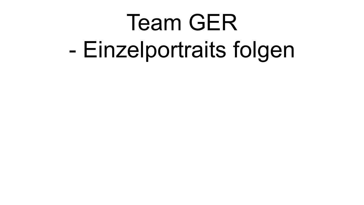 Team GER - Einzelportraits folgen
