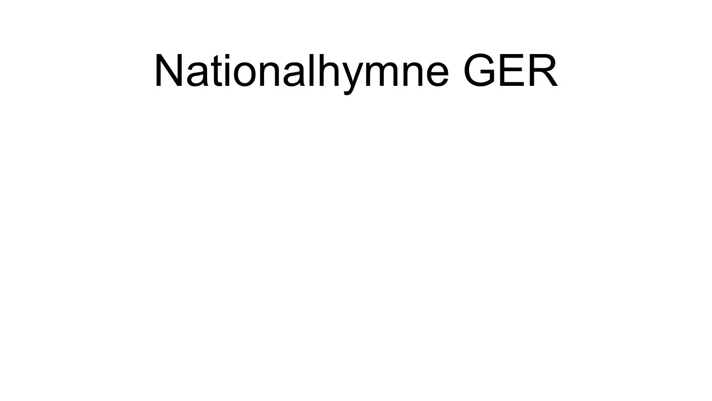 Nationalhymne GER