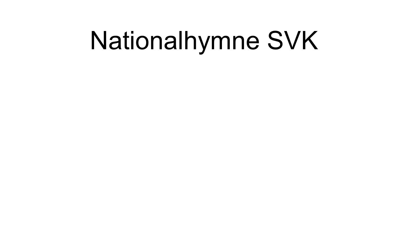 Nationalhymne SVK