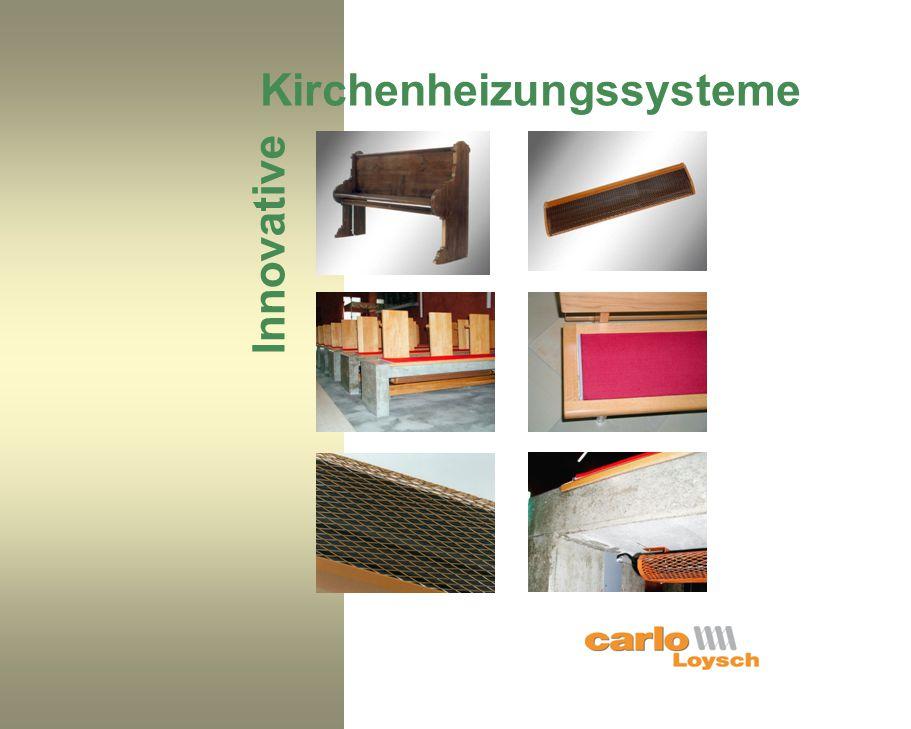 Kirchenheizungssysteme Innovative