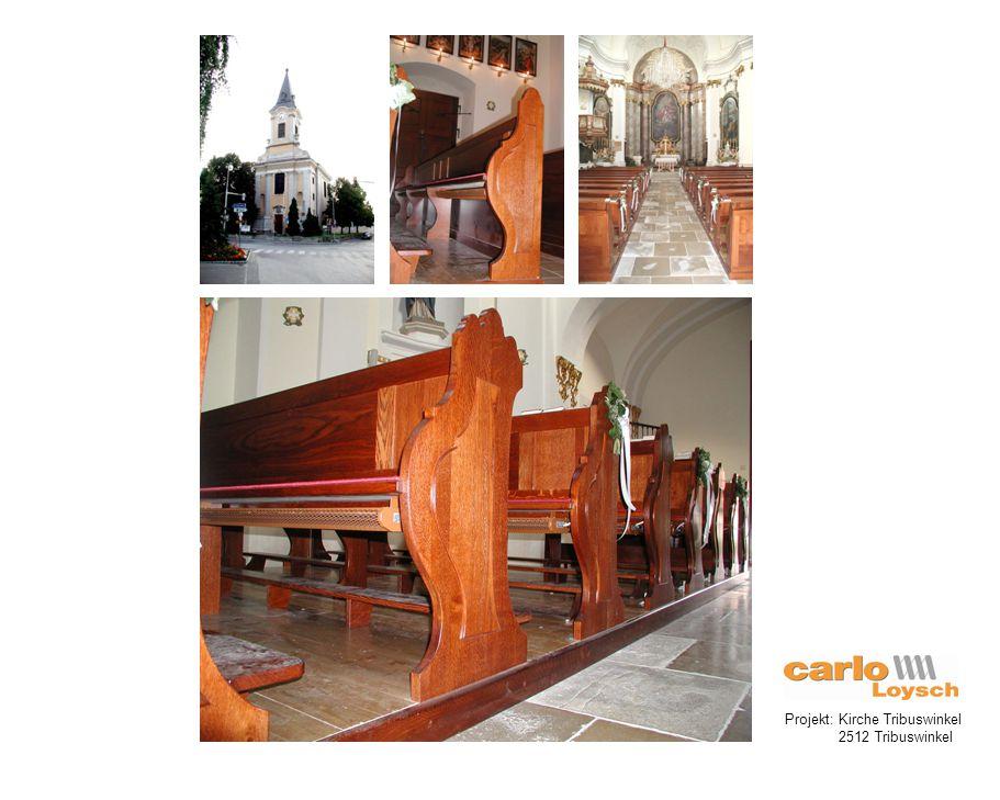 Projekt: Kirche Tribuswinkel 2512 Tribuswinkel