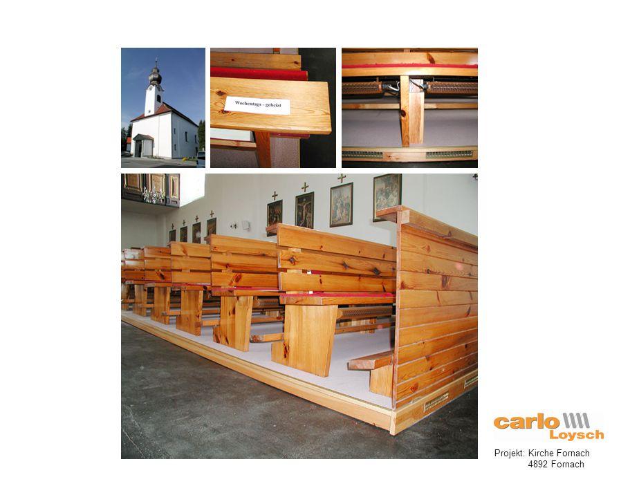 Projekt: Kirche Fornach 4892 Fornach