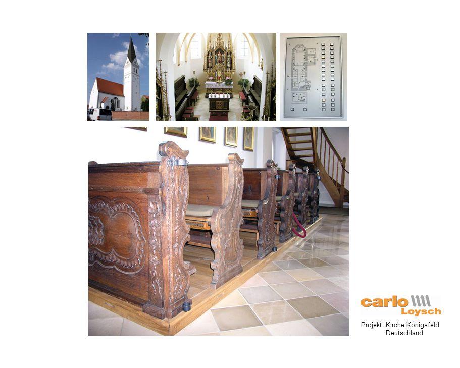 Projekt: Kirche Königsfeld Deutschland