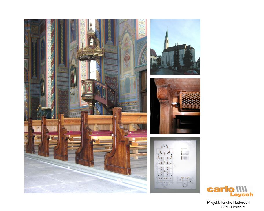 Projekt: Kirche Hatlerdorf 6850 Dornbirn