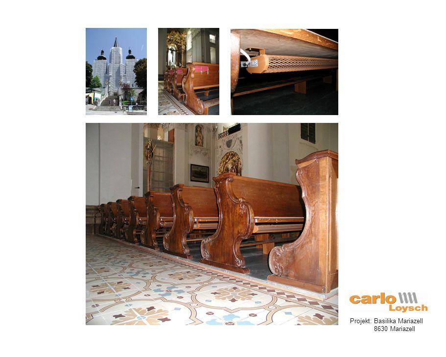Projekt: Basilika Mariazell 8630 Mariazell