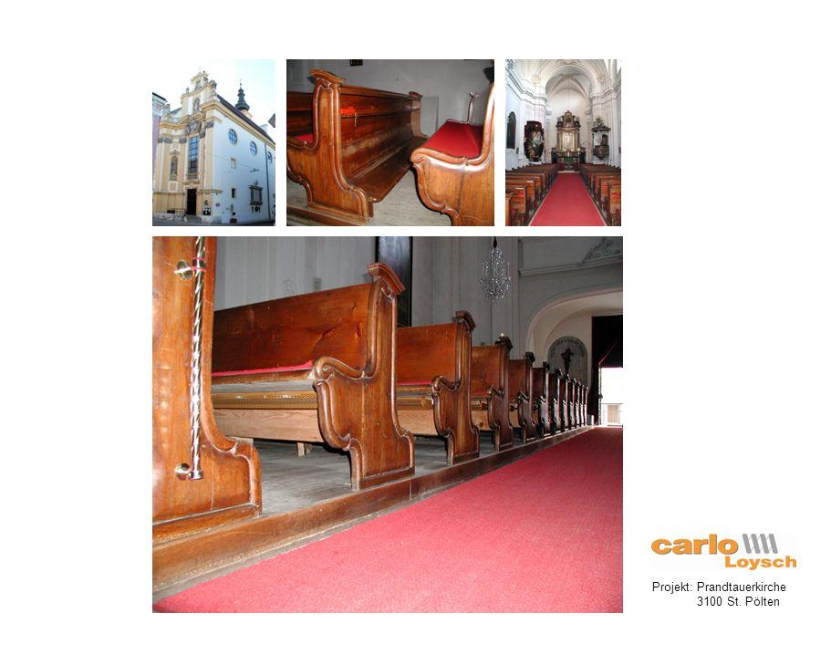Projekt: Kirche Maria Lourdes 3100 St. Pölten