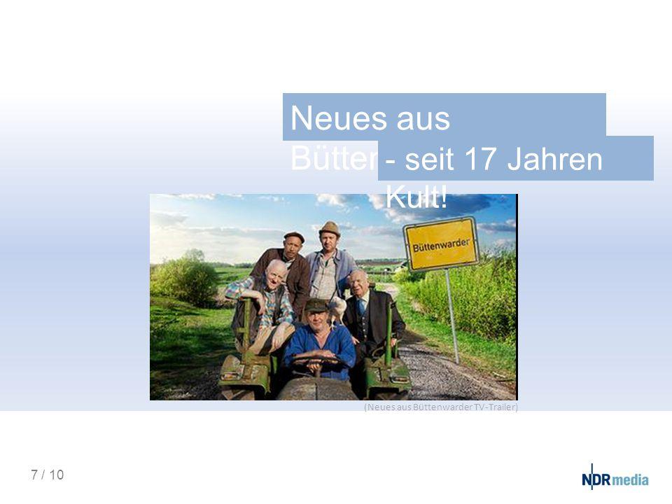 Neues aus Büttenwarder - seit 17 Jahren Kult! 7 / 10 (Neues aus Büttenwarder TV-Trailer)