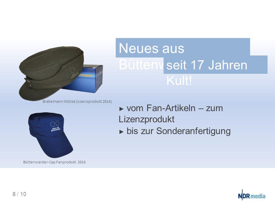 Neues aus Büttenwarder - Sonderanfertigu ng.