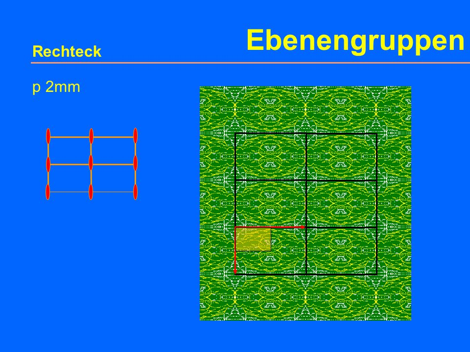 Ebenengruppen Rechteck c m