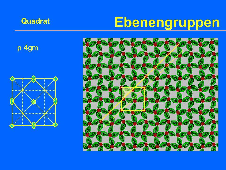 Ebenengruppen Quadrat p 4mm