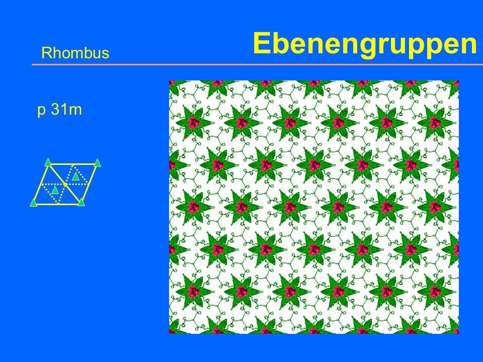 Ebenengruppen Rhombus p 3m1