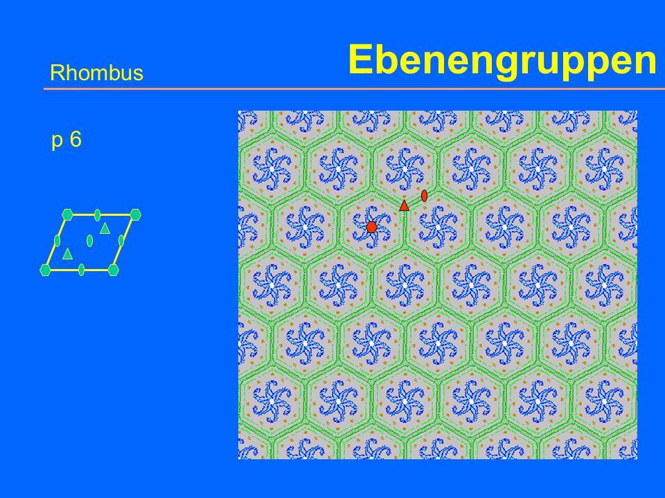 Ebenengruppen Rhombus p 31m