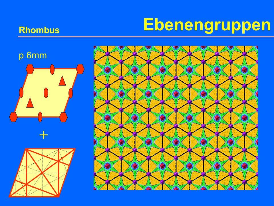 Ebenengruppen Rhombus p 6