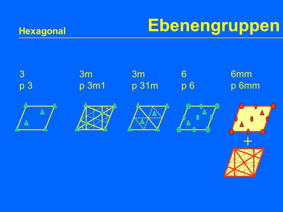 Ebenengruppen Rhombus p 6mm +