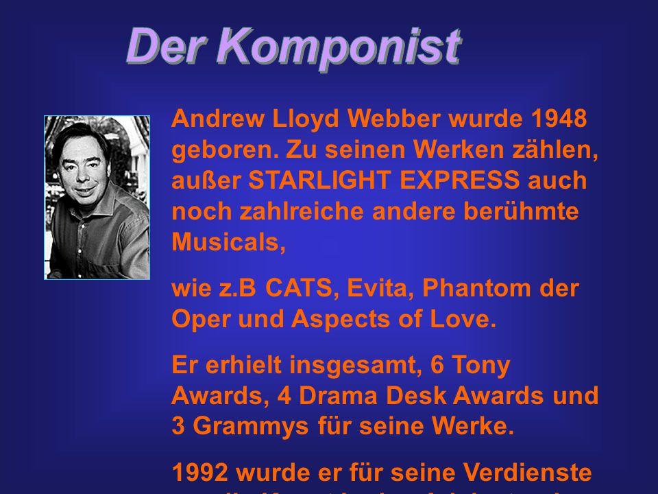Andrew Lloyd Webber wurde 1948 geboren.
