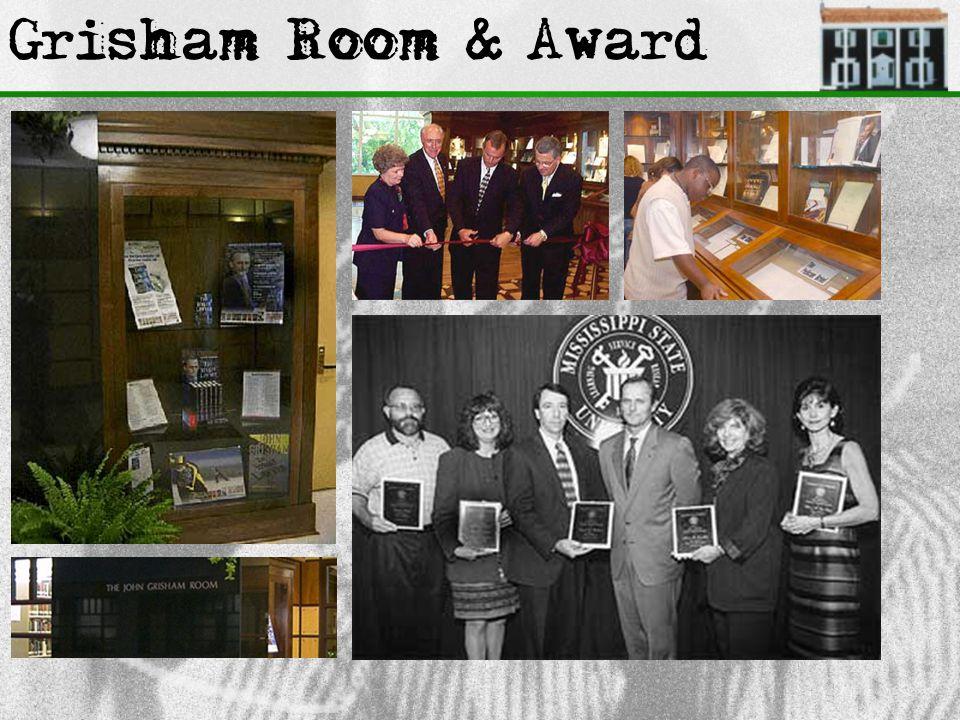 Grisham Room & Award