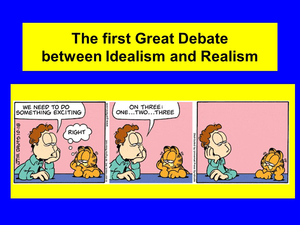 Political Realism Realism, also known as political realism (in order to distinguish it from philosophical Realism), encompasses a variety of theories and approaches, all of which share a belief that states are primarily motivated by the desire for military and economic power or security, rather than ideals or ethics.