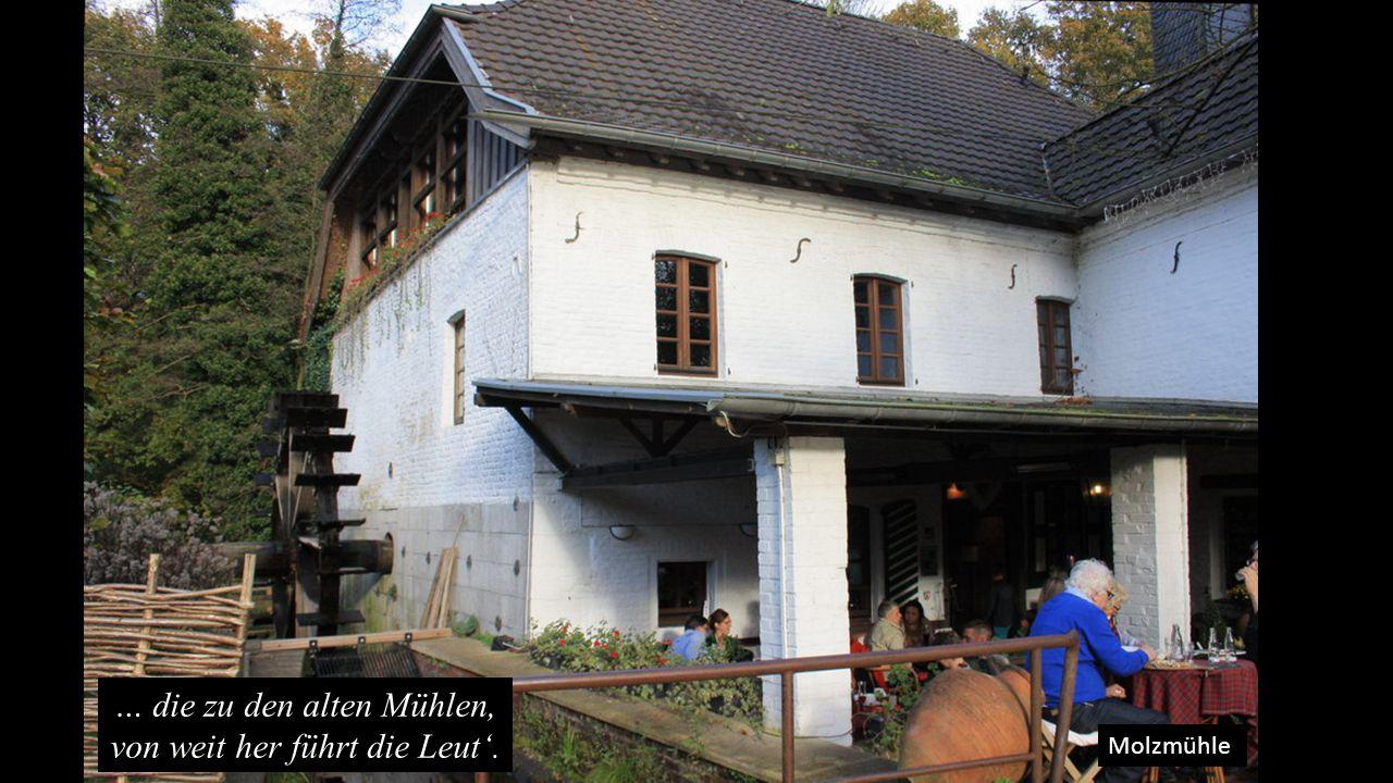 Molzmühle … die zu den alten Mühlen, von weit her führt die Leut'.