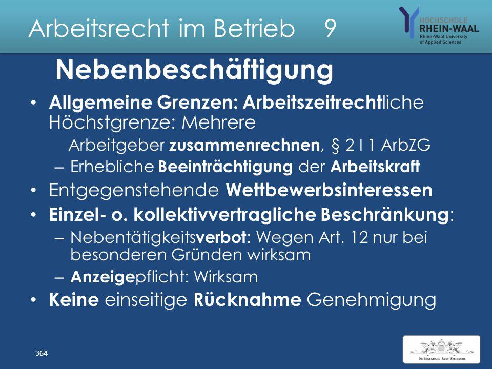 Arbeitsrecht im Betrieb 9 Wegezeiten: Vergütung Abgrenzung: Fahrten zwischen Wohnung und Arbeitsstätte: Nur steuerlich als Werbungskosten Wegezeiten: