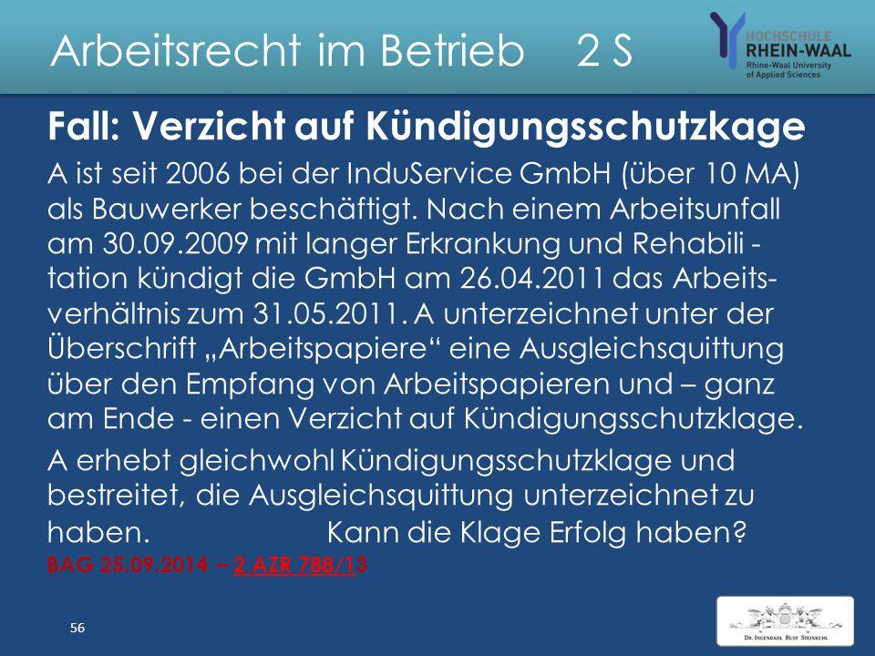 Arbeitsrecht im Betrieb 2 S Lösung: Sprachunkundiger Arbeitnehmer 1.Vertragsschluss: 1.Arbeitsvertragsangebot & Zugang, § 130 Abs. 1 BGB: Auslegung ob