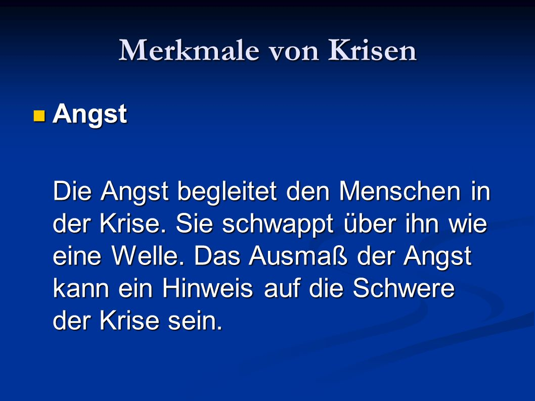 Literaturempfehlungen Kurz, Schermann, Schürmann (2007): Krisenintervention.