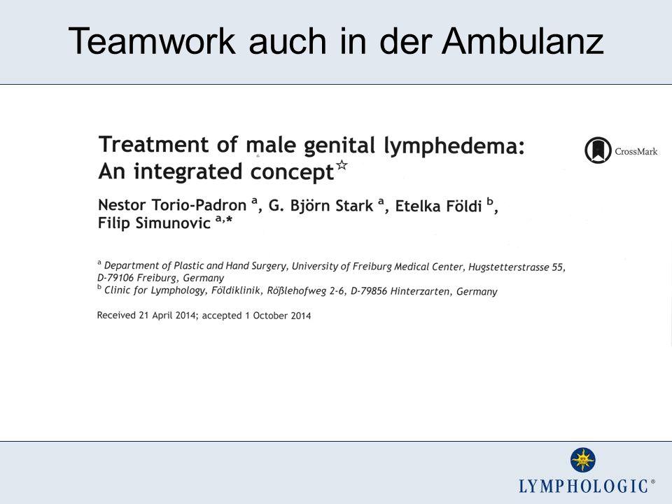 Teamwork auch in der Ambulanz
