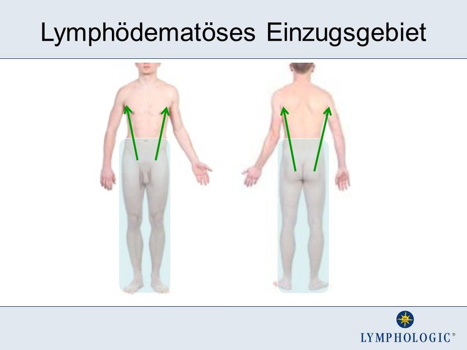 Lymphödematöses Einzugsgebiet