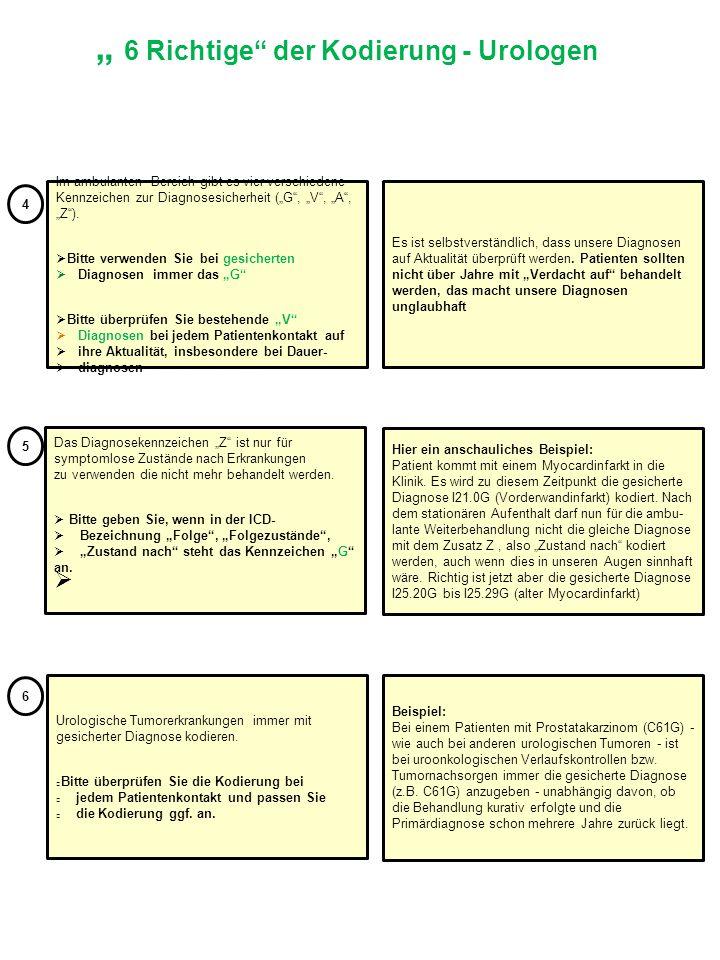 """Im ambulanten Bereich gibt es vier verschiedene Kennzeichen zur Diagnosesicherheit (""""G"""", """"V"""", """"A"""", """"Z"""").  Bitte verwenden Sie bei gesicherten Diagnos"""