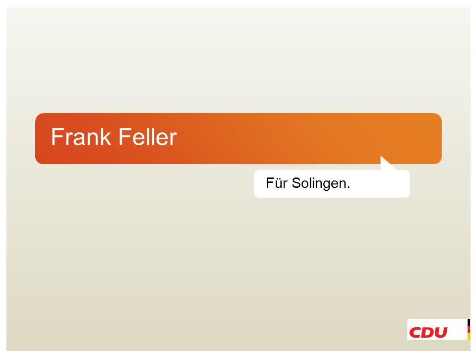 Frank Feller Für Solingen.