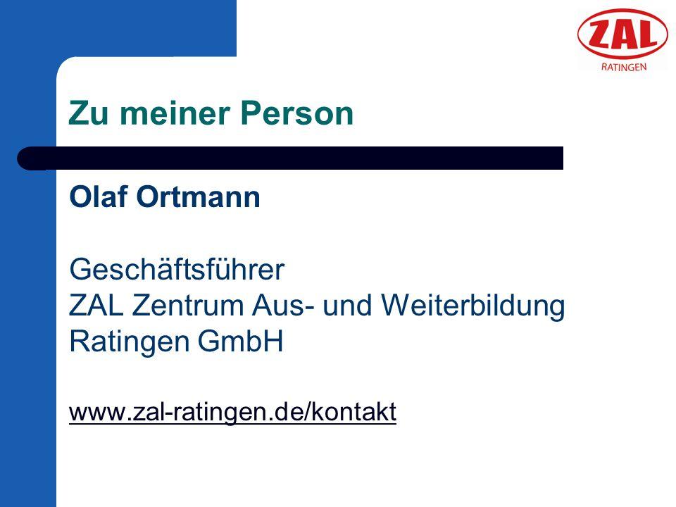 Die ZAL Ratingen GmbH ZAL Zentrum Aus- und Weiterbildung Ratingen GmbH Aus- und Weiterbildung: – Metalltechnik, konv.