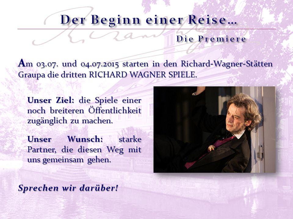 Wagners Dresdner Jahre von 1842 bis 1849: ein gewaltiges Ringen zwischen Liebeskomödie, Politthriller und Reformbestrebungen.