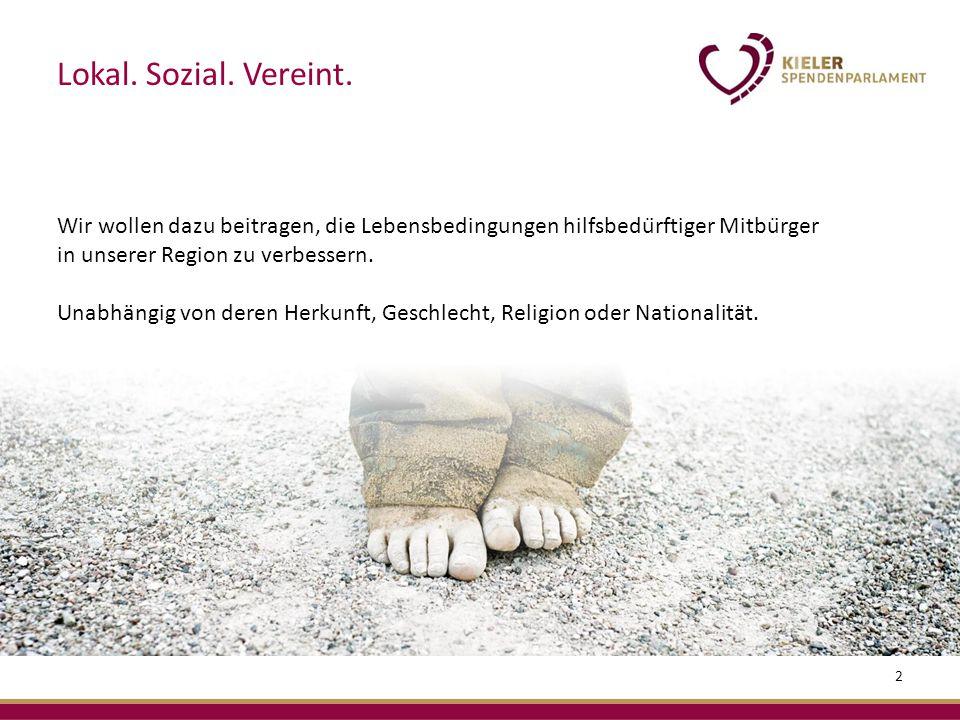 2 Wir wollen dazu beitragen, die Lebensbedingungen hilfsbedürftiger Mitbürger in unserer Region zu verbessern.