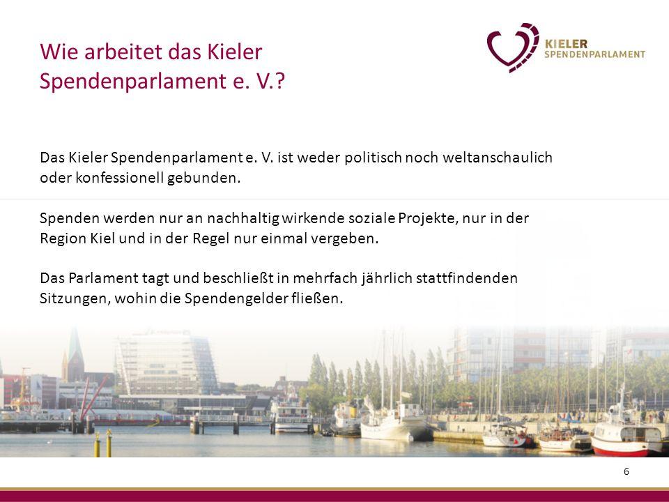 Das Kieler Spendenparlament e. V.